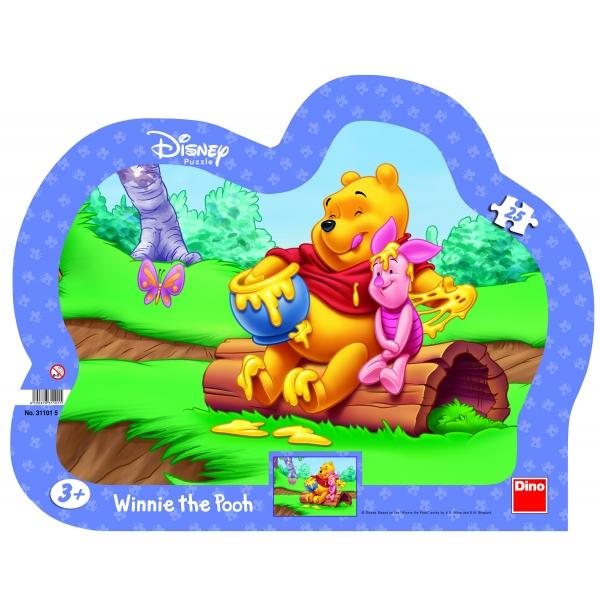Puzzle Winnie the Pooh - Mierea de albine, 25 pcs.