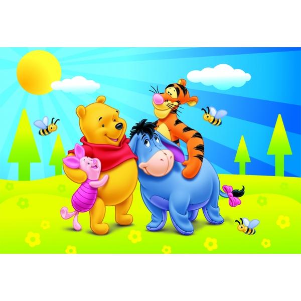 Puzzle Winnie the Pooh si vara, 24 pcs.