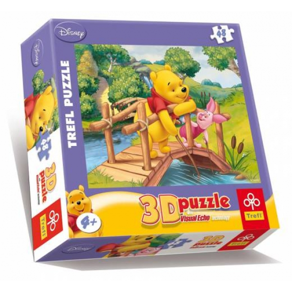 Puzzle WTP - By the brook 3D, 48 pcs