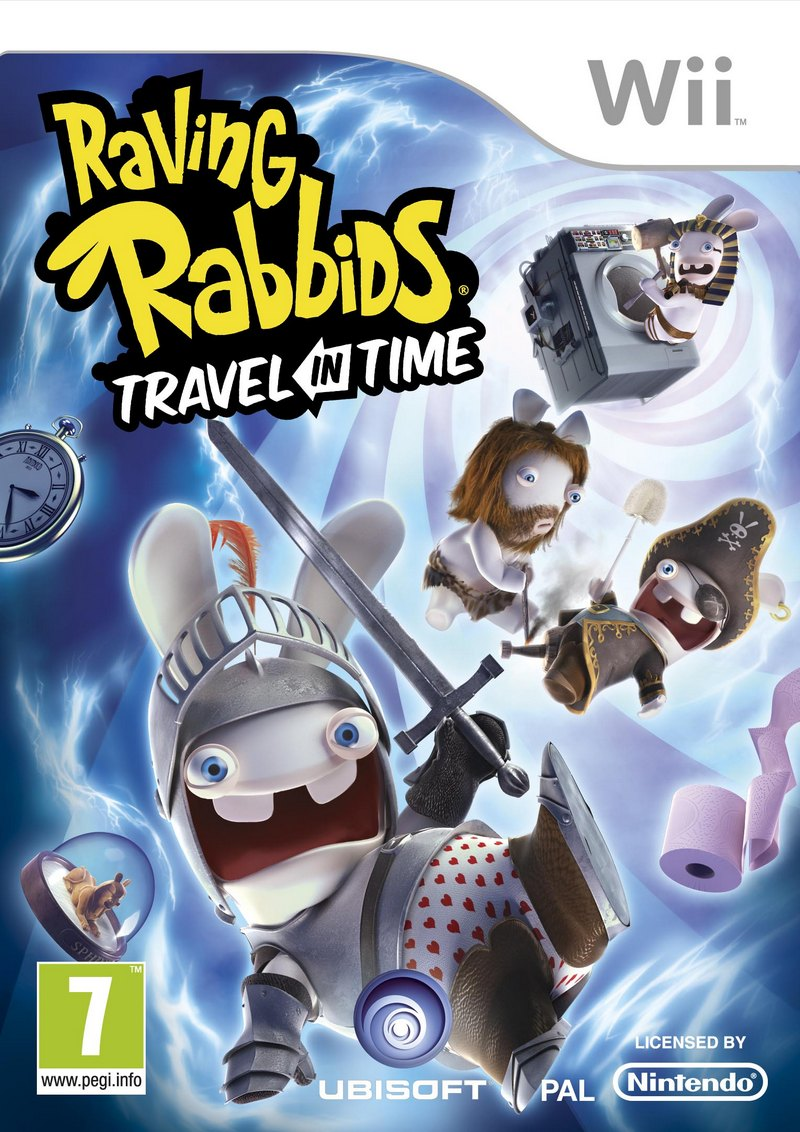 RABBIDS TRAVEL IN TIME WII