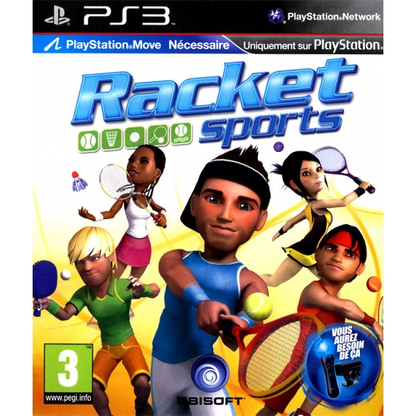 RACKET PS3 (MOVE) PS3