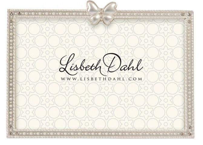 Rama foto Lisbeth Dahl ,fluture, argintiu mat, 10x15x2cm