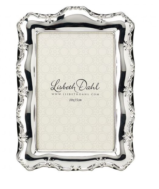 Rama foto Lisbeth Dahl,argintiu 10x15cm,029