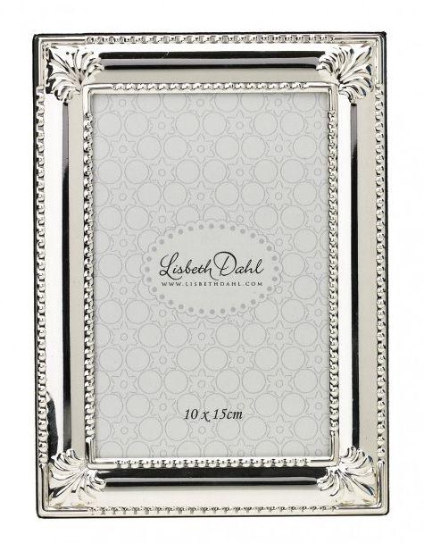 Rama foto Lisbeth Dahl,argintiu 10x15cm,083