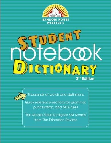 Random House Webster\'s Student Notebook Dictionary, Second Edition