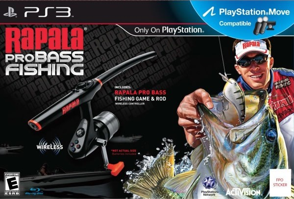 RAPALA PRO BASS FISHING BUNDLE - PS3