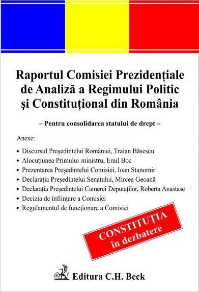 RAPORTUL COMISIEI PREZ IDENTIALE DE ANALIZA A