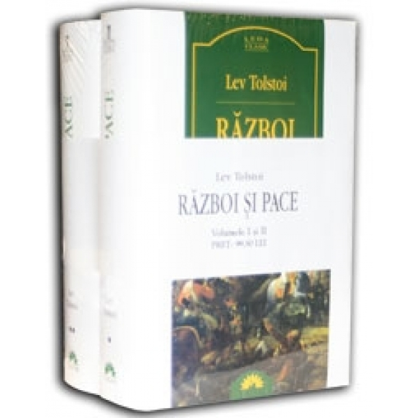 RAZBOI SI PACE VOLUMUL 1+2