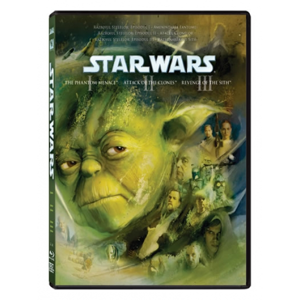 RAZBOIUL STELELOR (EP. I-III) (BD) - STAR WARS: THE PREQUEL TRILOGY (EPISODES I-III) (BD)
