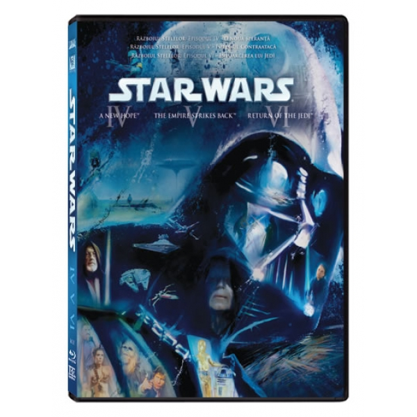 RAZBOIUL STELELOR (EP. IV-VI) (BD) - STAR WARS: THE ORIGINAL TRILOGY (EPISODES IV-VI)(BD)