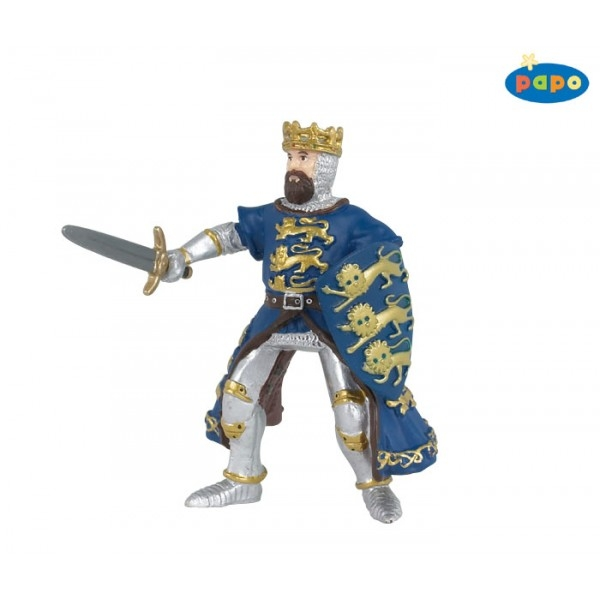 Regele Richard, albastru