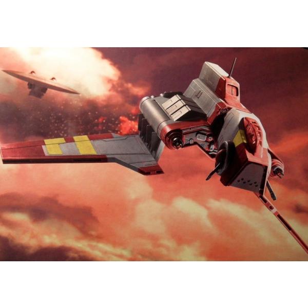 Republic Attack Shuttle - seria Clone Wars, 42 pcs.