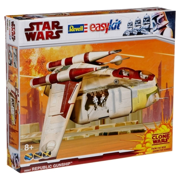 Republic Gunship - seria Clone Wars, 49 pcs.