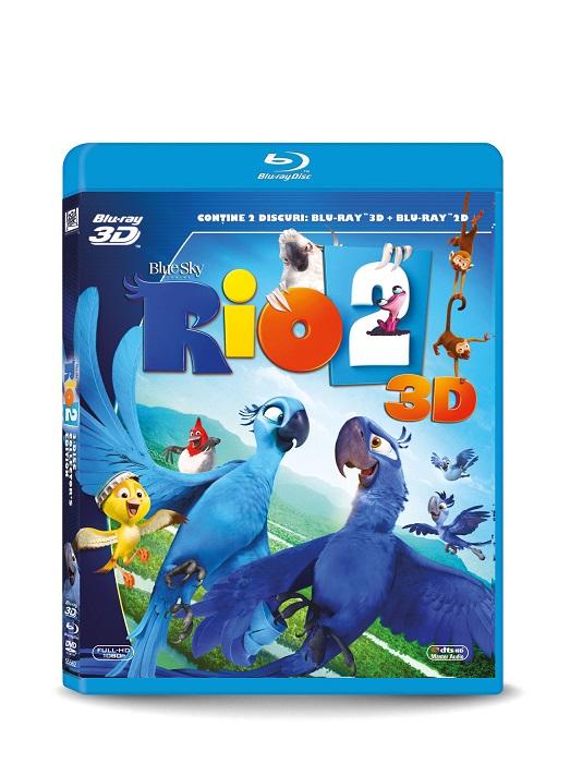 RIO 2 COMBO (3D + 2D)
