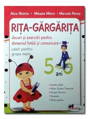 Rita Gargarita 5-6 ANI. EDITIA 3 (NOU)