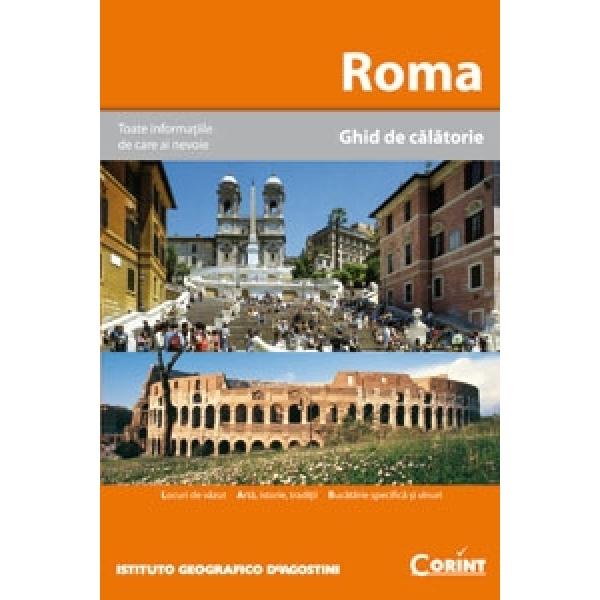 ROMA. GHID DE CALATORIE