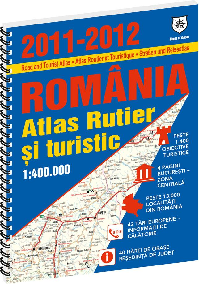 Romania atlas rutier si turistic 2011-2012
