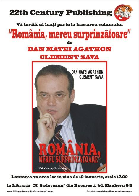 Romania, mereu surprinzatoare - Dan Matei Agathon