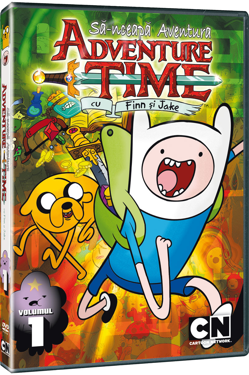 S-NCEAPA AVENTURA Vol 1+2-ADVENTURE TIME