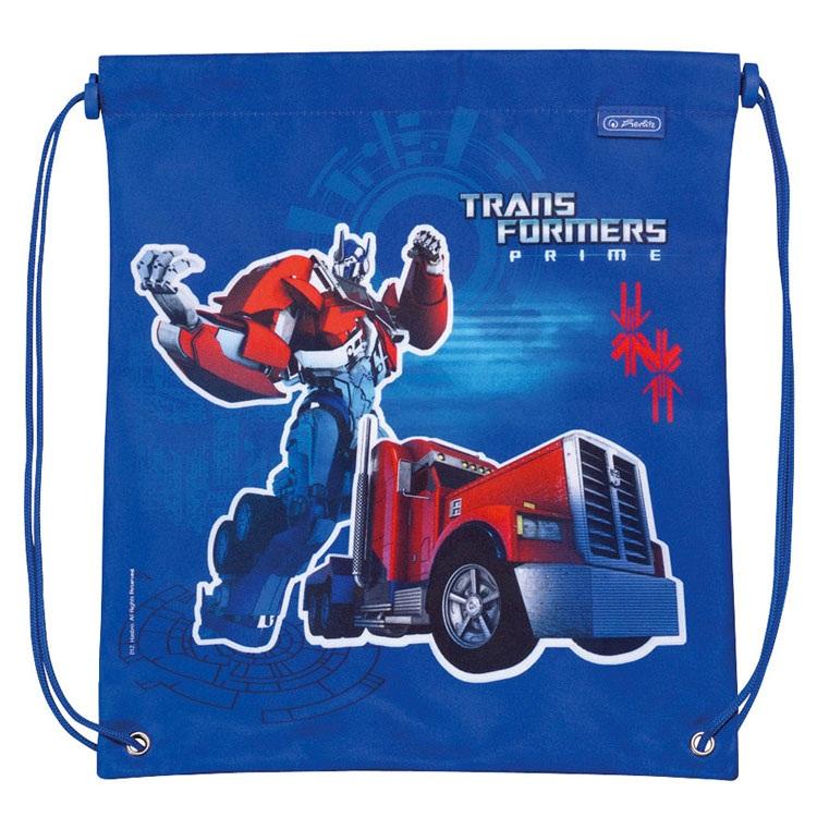 Sac sport Transformers,33x38cm,div.motive