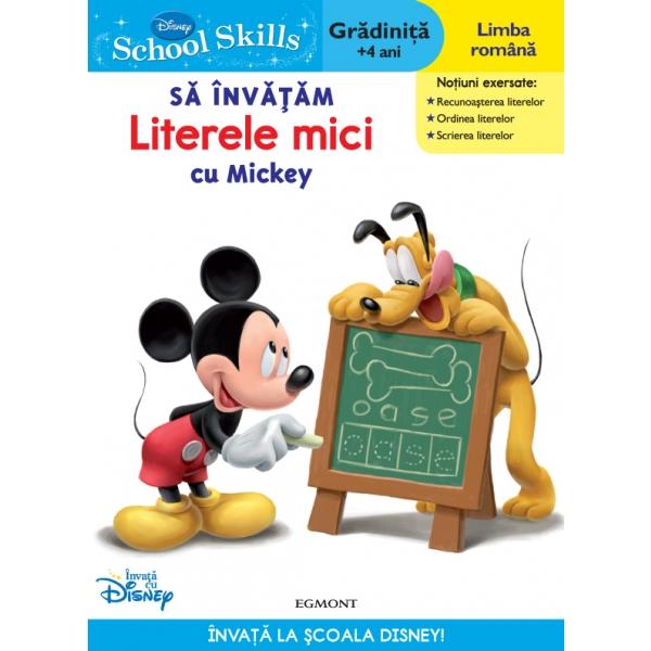 SCHOOL SKILLS +4 ANI - SA INVATAM LITERELE MICI CU MICKEY