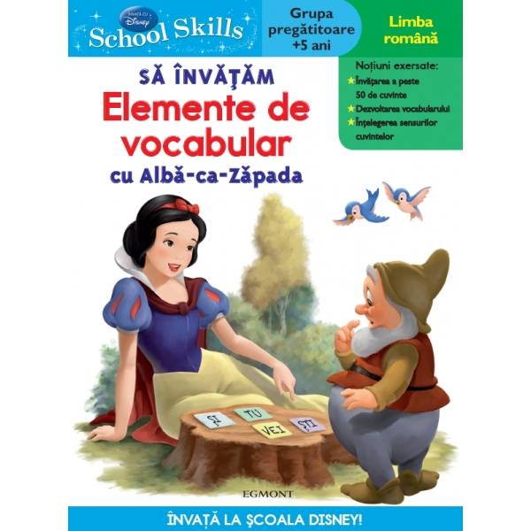SCHOOL SKILLS +5 ANI - SA INVATAM ELEMENTE DE VOCABULAR CU ALBA CA ZAPADA