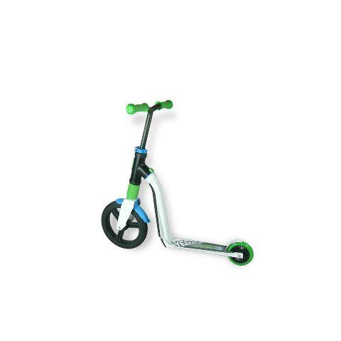 Scuter/bicicleta fara pedale,Highwayfreak,3A+,verde,alb,albastru