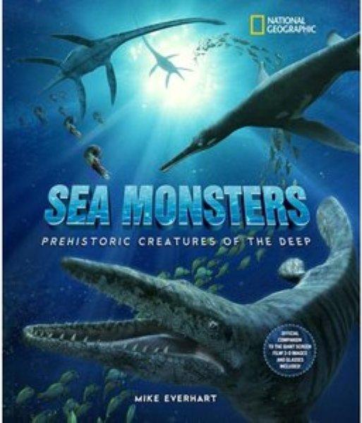 Sea monsters, prehistoric creatures of the deep