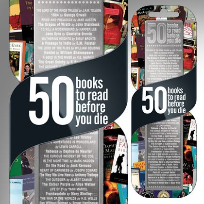 Semn de carte 50 books ro read before you die