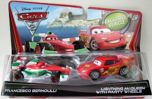 zzSet 2 masinute Cars 2, diverse modele
