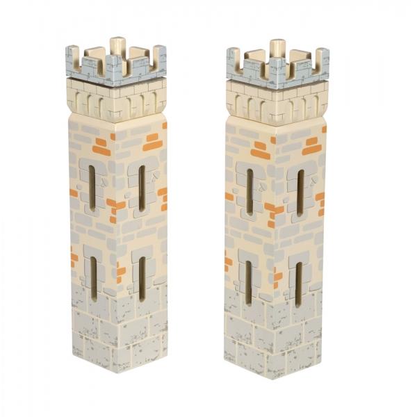 Set 2 turnuri mici castel