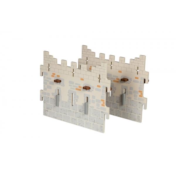Set 2 ziduri mari castel