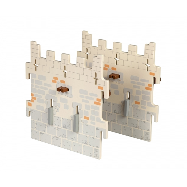 Set 2 ziduri medii castel