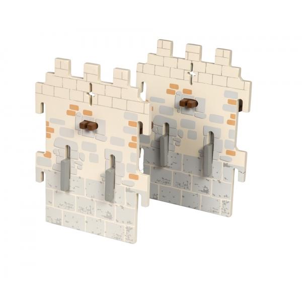Set 2 ziduri mici castel