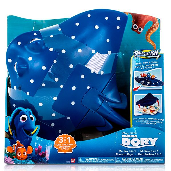 Set 3in1,Finding Dory,Ray