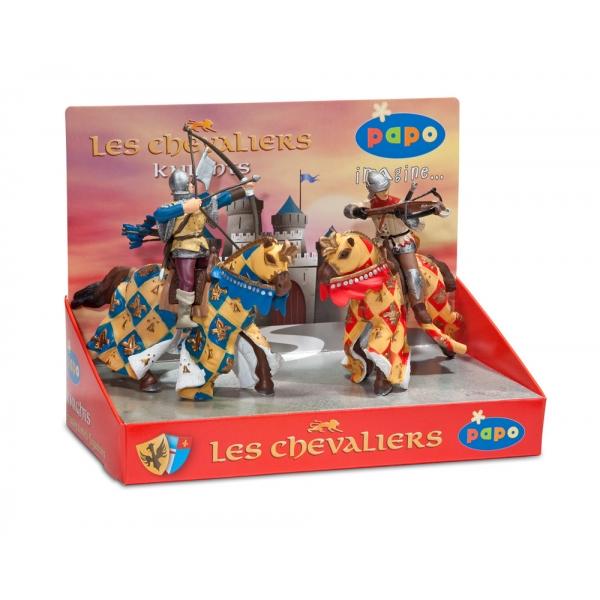 Set 4 figurine - cavaleri 3