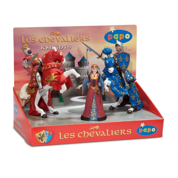 zzSet 5 figurine - cavaleri 1