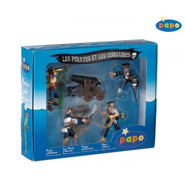 Set 5 figurine - pirati