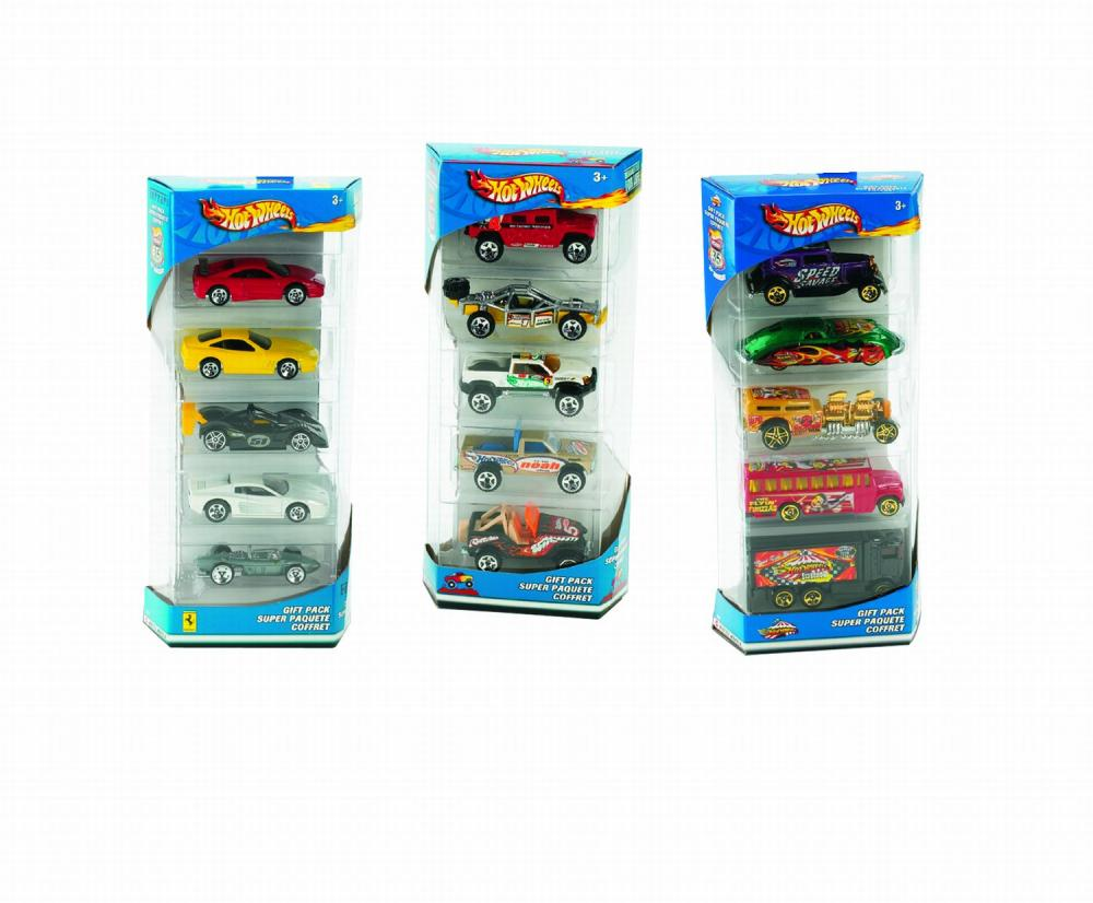 Se 5 masinute Hot Wheels, div. modele