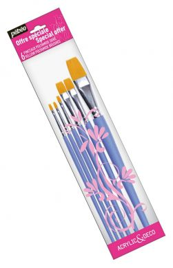 Set 6 pensule late Pebeo (0,2,4,10,12,18