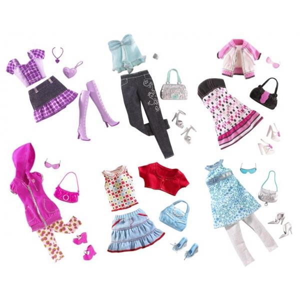 Set accesorii vestimentare Barbie-div. modele