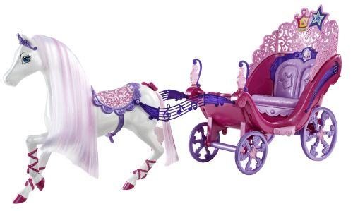 zzSet Barbie Cal si Caleasca