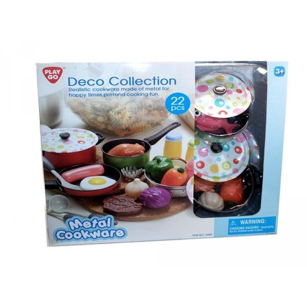 Set bucatarie,22pcs,PlayGo