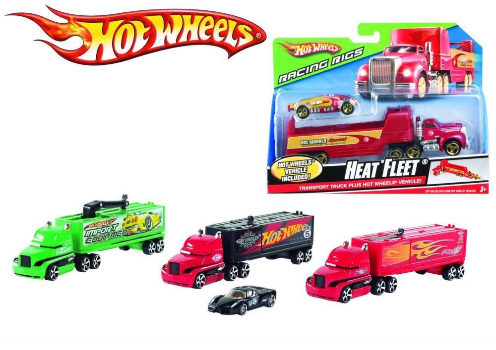 Set camion si masina Hot Wheels,div. mod