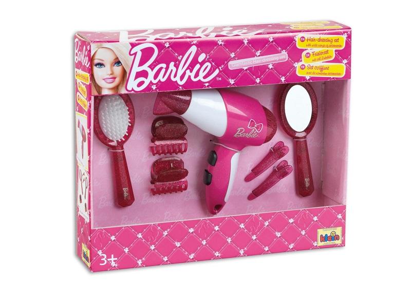 Set coafura cu feon si accesorii Barbie
