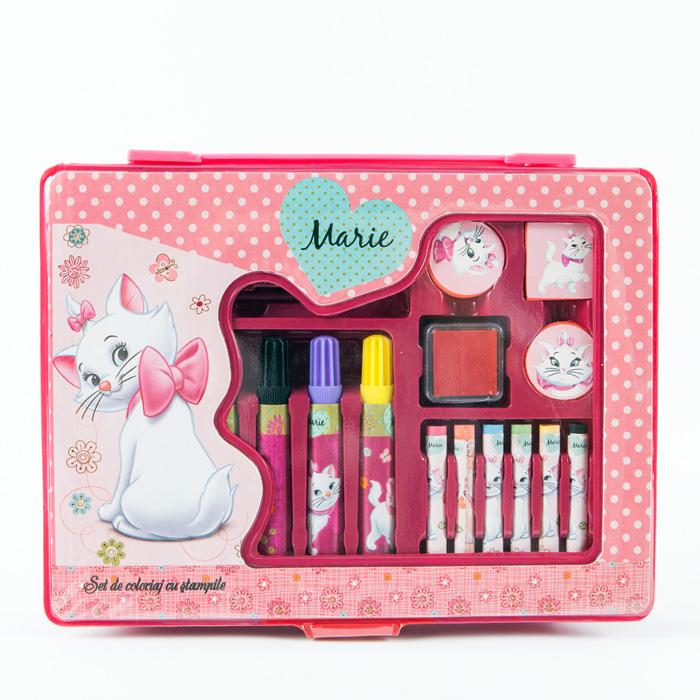 Set coloriaj cu stampile Marie