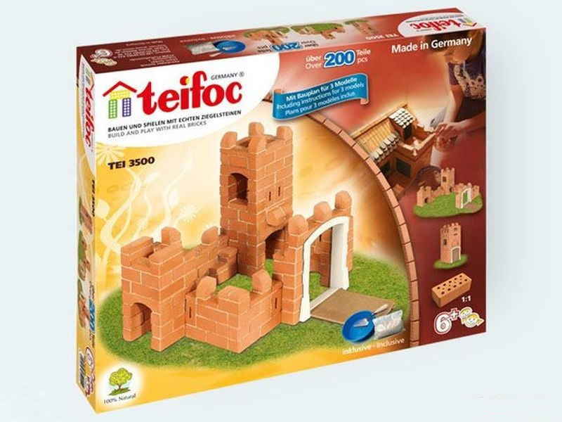 Set constructie caramizi,Castel mic