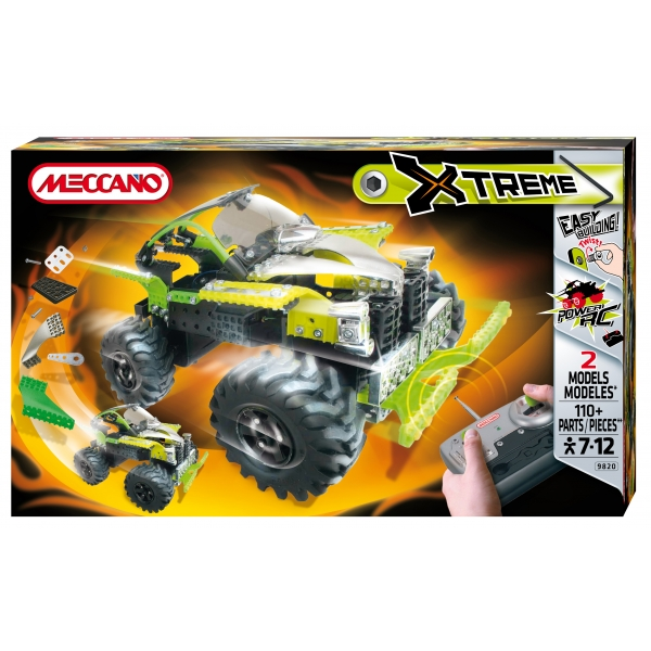 zzSet constructie Xtreme RC 4x4