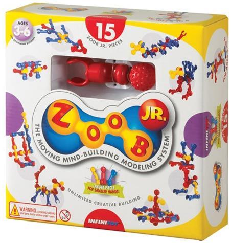 Set Constructii Zoob Jr. 15 pcs