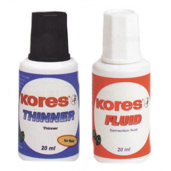 Set Corector Kores (fluid + diluant)